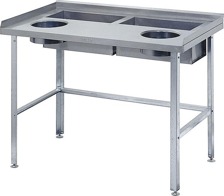 Стол для овощей ATESY СО-2/1500/800
