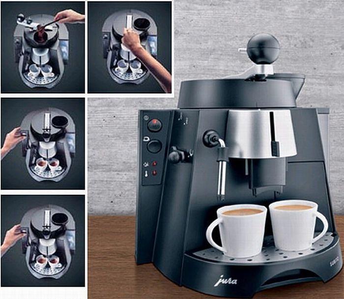 Каждому покупателю кофемашины Jura кофе в подарок!