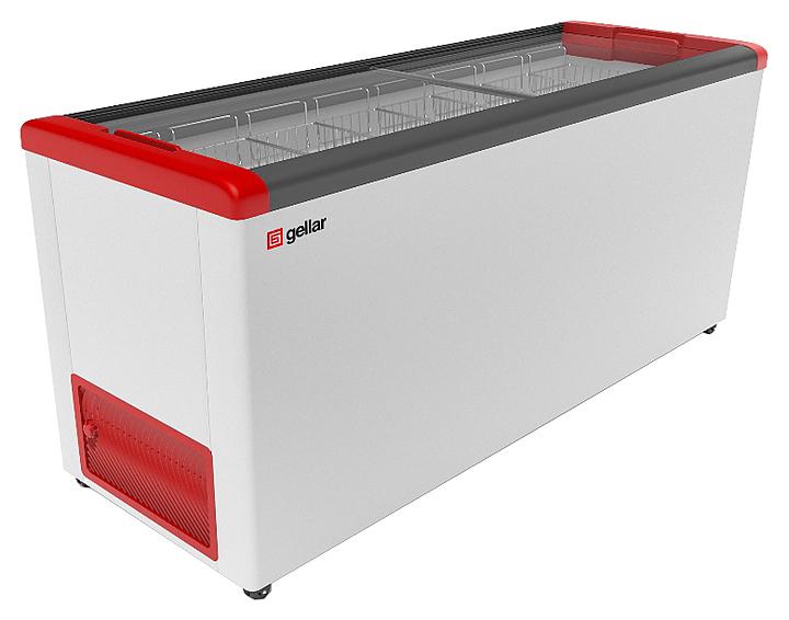 Ларь морозильный Frostor GELLAR FG 700 C красный