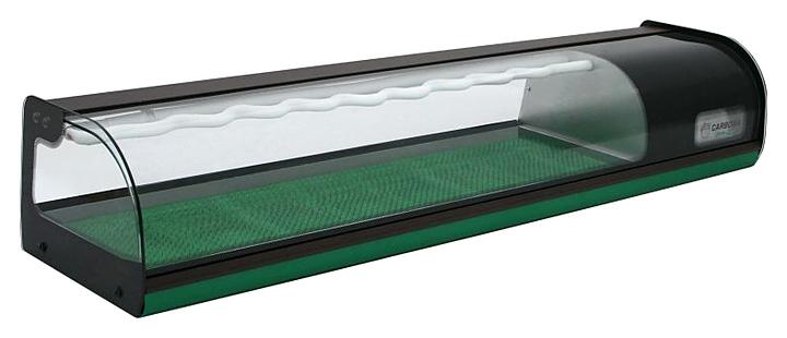 Витрина холодильная Carboma A37 SM 1,5-1 (ВХСв-1,5 суши-кейс) (6 GN 1/3)