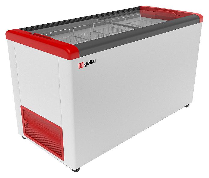 Ларь морозильный Frostor GELLAR FG 500 C красный