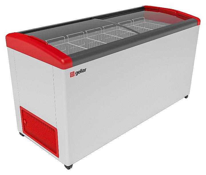 Ларь морозильный Frostor GELLAR FG 600 E красный