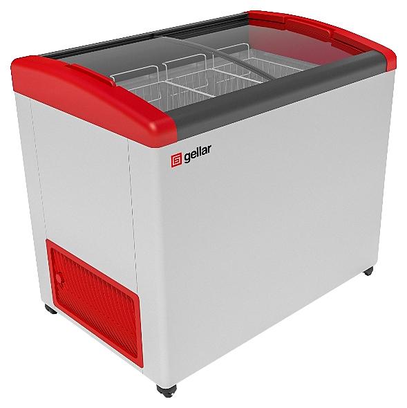 Ларь морозильный Frostor GELLAR FG 375 E красный